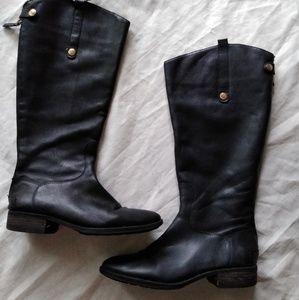 Sam Edelman  black boots, size 10